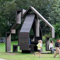 Folly Noorderzon:  Exhibitieruimten door Huting & De Hoop