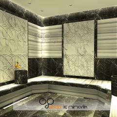 GO Design İç Mimarlık – N.D. Koşuyolu Villa Projesi:  tarz Spa