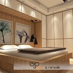 GO Design İç Mimarlık – N.D. Koşuyolu Villa Projesi:  tarz Yatak Odası