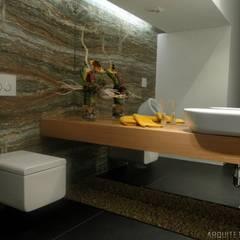casa JL: Casas de banho  por arquitetura.501