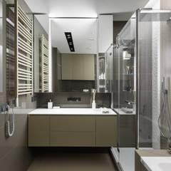 """Апартаменты ЖК """"Гранд фамилия"""": Ванные комнаты в . Автор – ART Studio Design & Construction"""