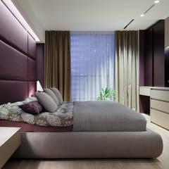 """Апартаменты ЖК """"Гранд фамилия"""": Спальни в . Автор – ART Studio Design & Construction,"""