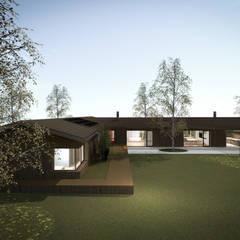 庭院 by MIDE architetti