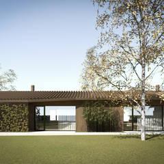 Jardines de invierno de estilo  de MIDE architetti