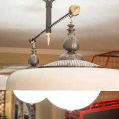Entertainment Room Light Fixtures: classic Media room by Kellie Burke Interiors