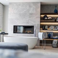 Elegante: Baños de estilo  por Claudia Luján, Moderno