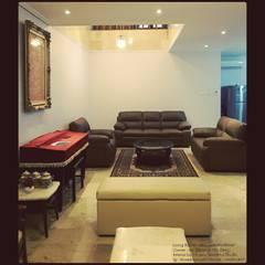 Tuang Tamu:  Ruang Keluarga by Vaastu Arsitektur Studio