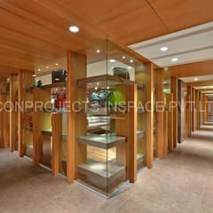 Internal Corridor:  Commercial Spaces by ICON PROJECTS INSPACE PVT.LTD