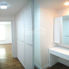 용인 동백동 동원로얄듀크 44평 아파트: 얀코인테리어의  방