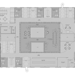 Render Plan:  Commercial Spaces by ICON PROJECTS INSPACE PVT.LTD