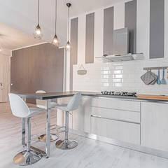 Ristrutturazione appartamento Roma, Tor Sapienza: Cucina in stile  di Facile Ristrutturare