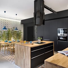 industrial Kitchen by Egue y Seta