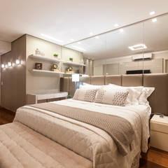 Apartamento luxo: Quartos  por Home projetos,Moderno