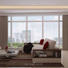 The Windsor: Ruang Keluarga oleh INTERIORES - Interior Consultant & Build,