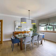 Sala e Varanda em Paço de Arcos: Salas de jantar  por Sizz Design