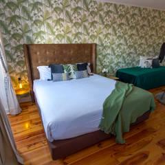 Apartamento T0 no Bairro Alto: Quartos  por Sizz Design