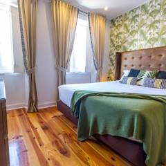 tropische Slaapkamer door Sizz Design