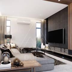 Livings de estilo  por pyh's interior design studio