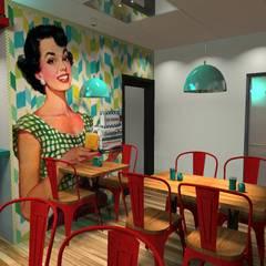 Main Restaurant: Gastronomía de estilo  por Diseño de Locales