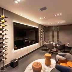 minimalistic Wine cellar by Padovani Arquitetos + Associados