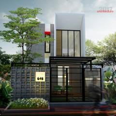 ARSITA STUDIO architecture의  일세대용 주택