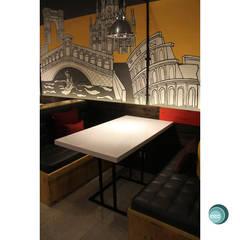 Oro Colato - Gelato and Bar: Dinding oleh IDEO DESIGNWORK,