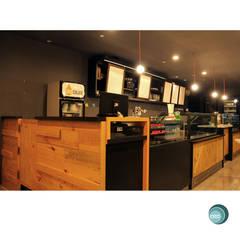 Oro Colato - Gelato and Bar:  Ruang Kerja by IDEO DESIGNWORK