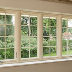 Ventanas de madera de estilo  por Marvin Windows and Doors UK