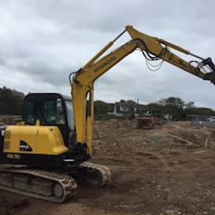 FOR SALE - 12.7.17 - Hyundai 5700kg Robex 55-7A Digger/ Excavator 2010 Yanmar Engine Hours 3765.8:  Commercial Spaces by Building With Frames