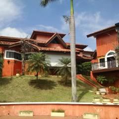 Projeto Residencial : Casas familiares  por Rodinei Pinto arquitetura & construção ME