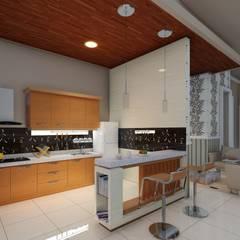 interior Dapur Modern Oleh Ardha Design Modern