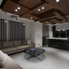 House D 鄧宅:  視聽室 by 構築設計