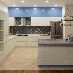 Cocinas de estilo  por DIANTHUS 康乃馨室內設計