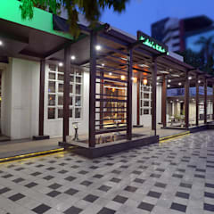 Entrance Colonnade:  Hotels by Matai Associates