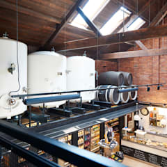 Shop at Sheppy's Cider:  Commercial Spaces by Barc Architects