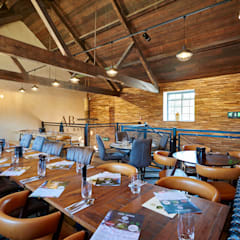 Upper Restaurant at Sheppy's Cider:  Gastronomy by Barc Architects