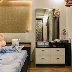 Two BHK - Whitefield:  Bedroom by Wenzelsmith Interior Design Pvt Ltd