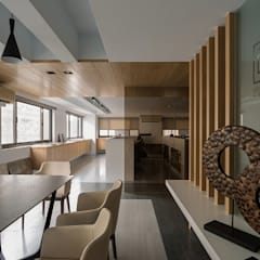 [OFFICE] Yunshi Interior Design Studio: KD Panels의  사무실