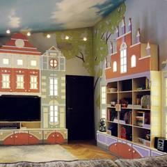 Мы — эксперты в детской мебели!: комнаты для новорожденных в . Автор – OBIC Design