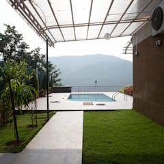 Bungalow- Lavasa:  Garden Shed by Aesthetica
