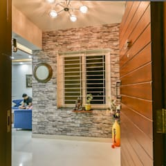 Classic style corridor, hallway and stairs by Wenzelsmith Interior Design Pvt Ltd Classic