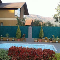 Bungalow- Lavasa:  Garden Pool by Aesthetica