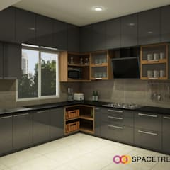 Built-in kitchens by Space Trend