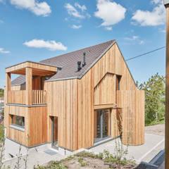 auf der sauhalde:  Einfamilienhaus von lohrmannarchitekt bda