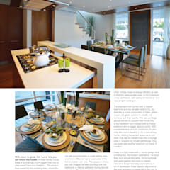 Built-in kitchens by Marilen Styles, Tropical