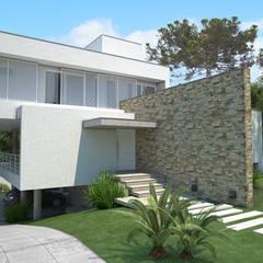 Дома на одну семью в . Автор – MEI Arquitetura, Минимализм