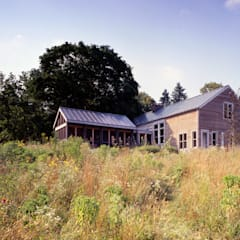 Hayden Lane Residence, Bucks County, PA: country Houses by BILLINKOFF ARCHITECTURE PLLC