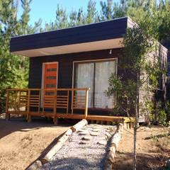 PROYECTO MINILOFT TUNQUEN: Casas prefabricadas de estilo  por Constructora Montgreen Ltda.