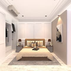Bedroom by VH INTERIOR DESIGN