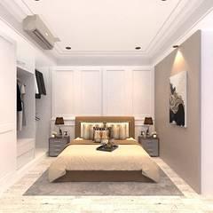 غرفة نوم تنفيذ VH INTERIOR DESIGN